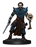 Figurka D&D - Human Male Warlock - Painted (Dungeons & Dragons: Icons of the Realms Premium Miniatures)