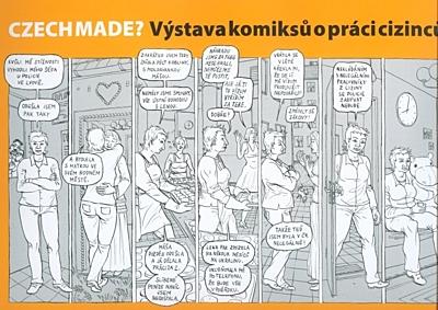 CzechMade? Výstava komiksů o práci cizinců